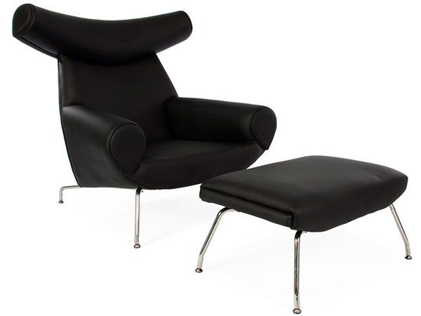 Wegner Ox chair - Black