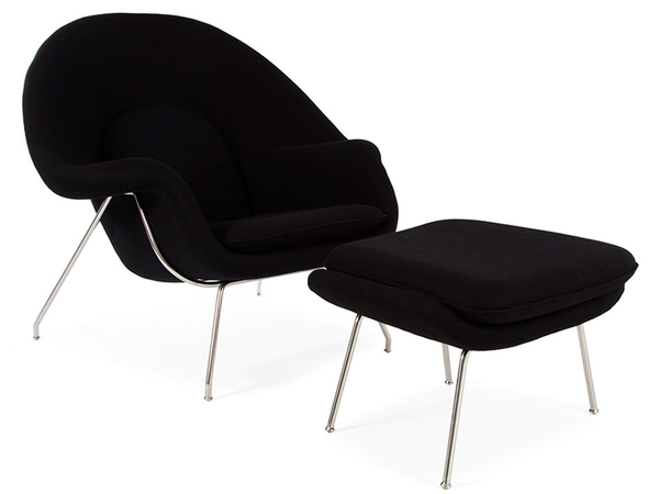 Womb chair - Black