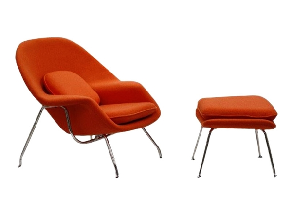 Womb chair - Dark orange