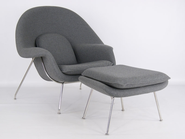 Womb chair - Grey