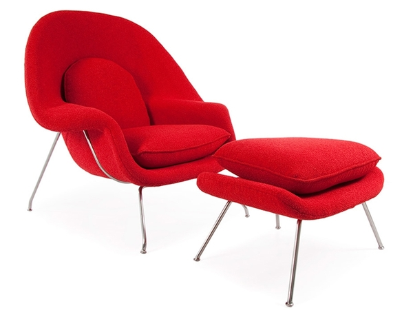 Womb chair - Red